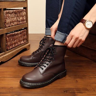 Hanrae Men And Women HighShoes  Cotton Boots