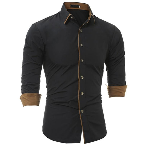 Hanrae Fashion Slim Dress Shirts