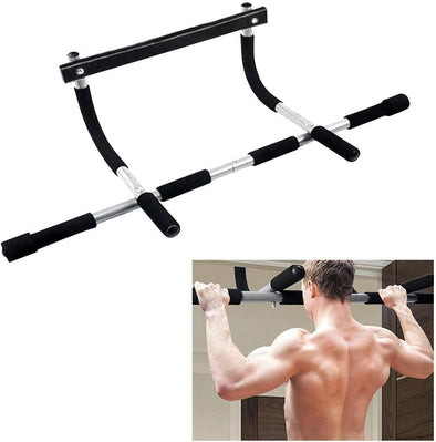 Hanrae Workout Bar for Home Gym Exercise  Household Door Pull-Ups Assistant Horizontal Bar Simple Model