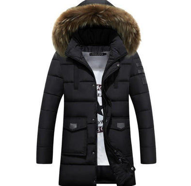Hanrae Men Warm Winter Coat-1
