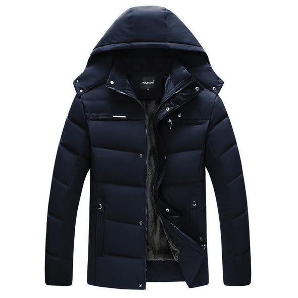 Hanrae 3 Colors-Men's Thicken Winter Jacket