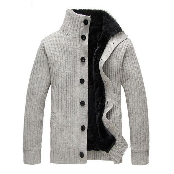Hanrae Sweater Fleece With Button