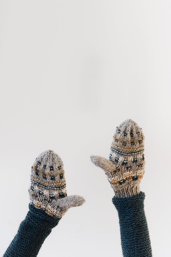 snowberry mittens