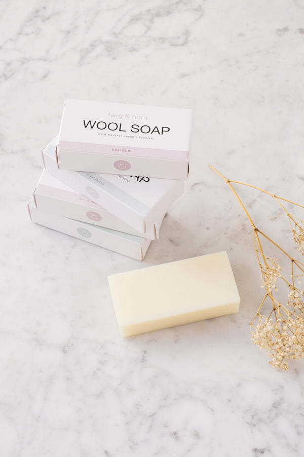 t&h wool soap bar