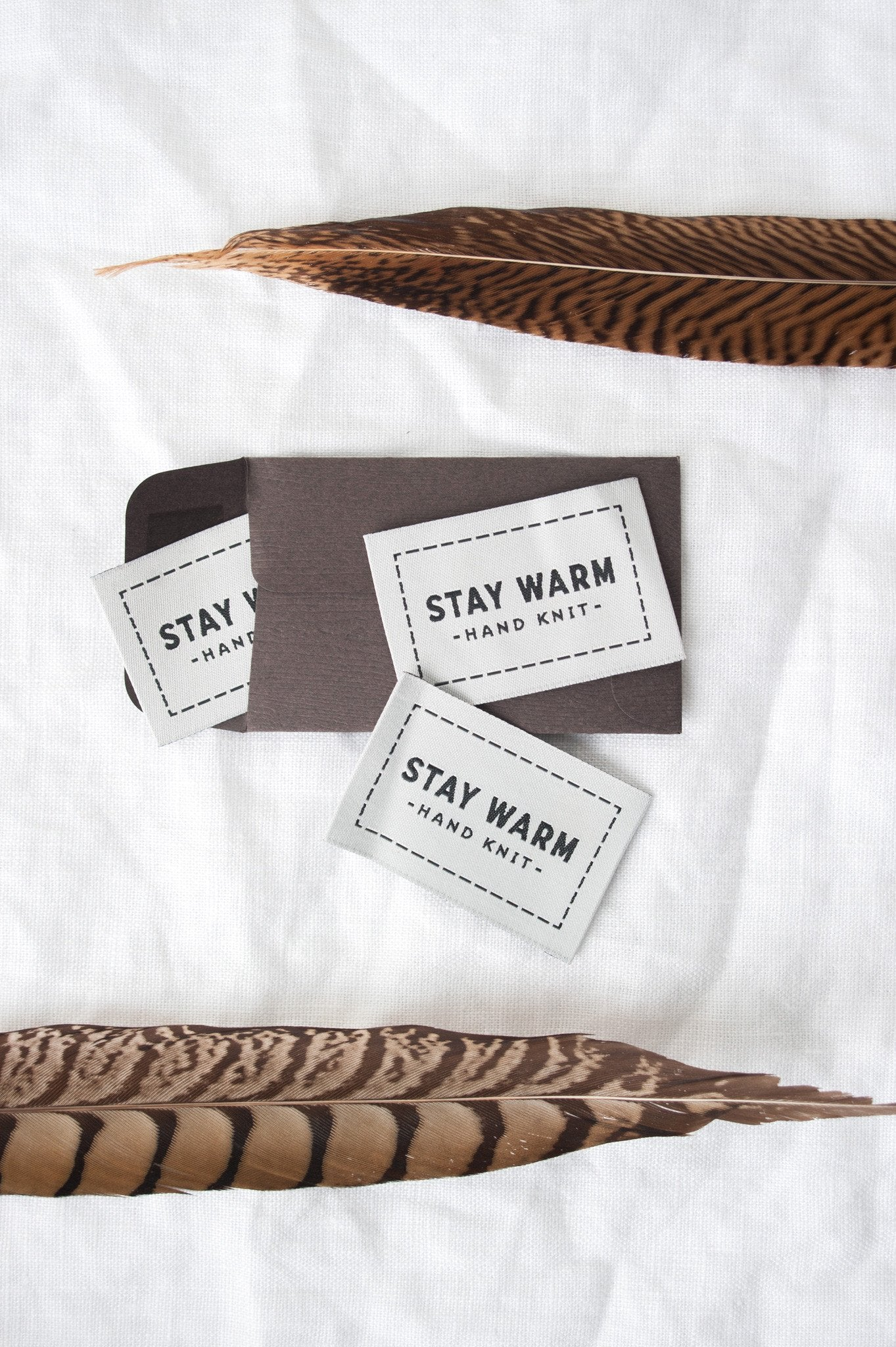 Stay Warm Woven Labels Quince And Co