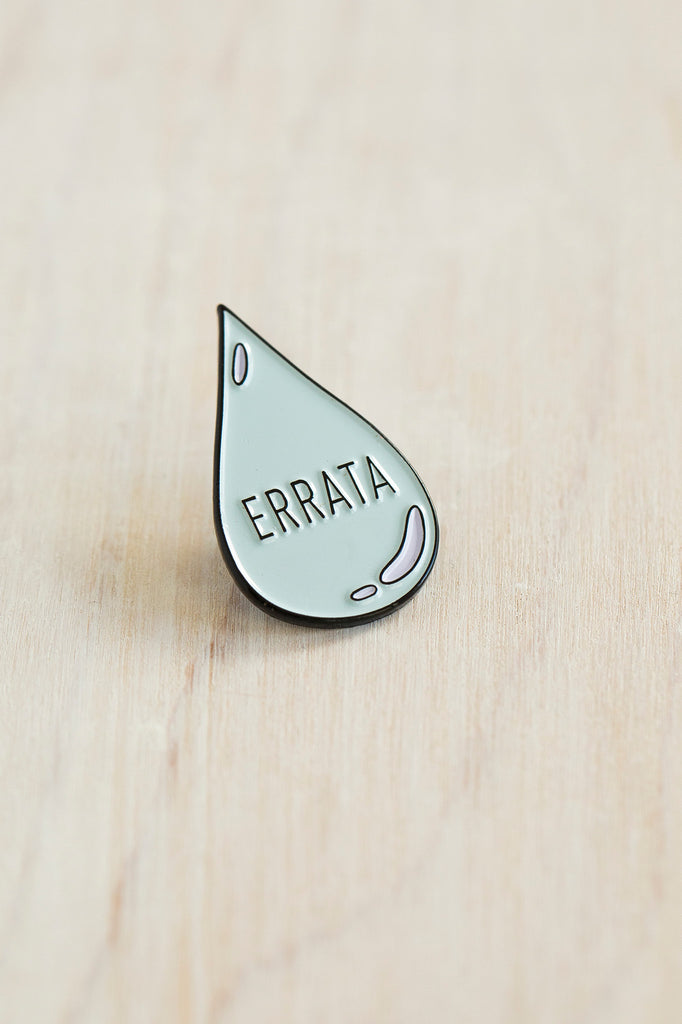 K2TOG Club errata tear pin
