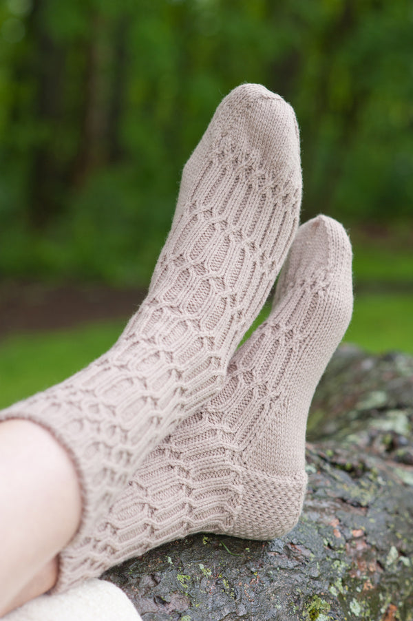 cross-rib socks