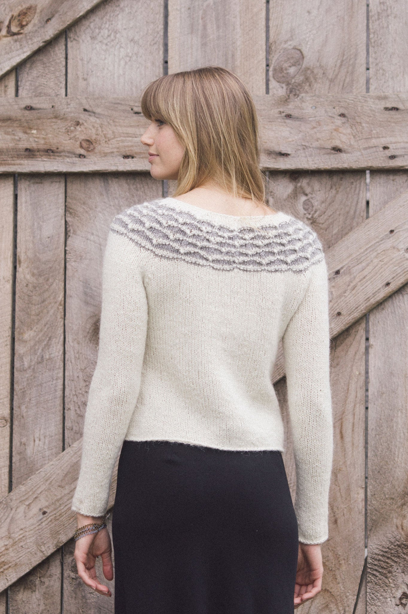 aspen pullover knitting pattern - Quince and Co