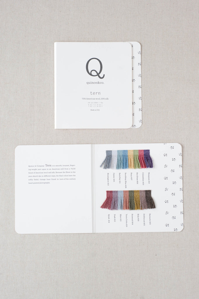 quince color cards