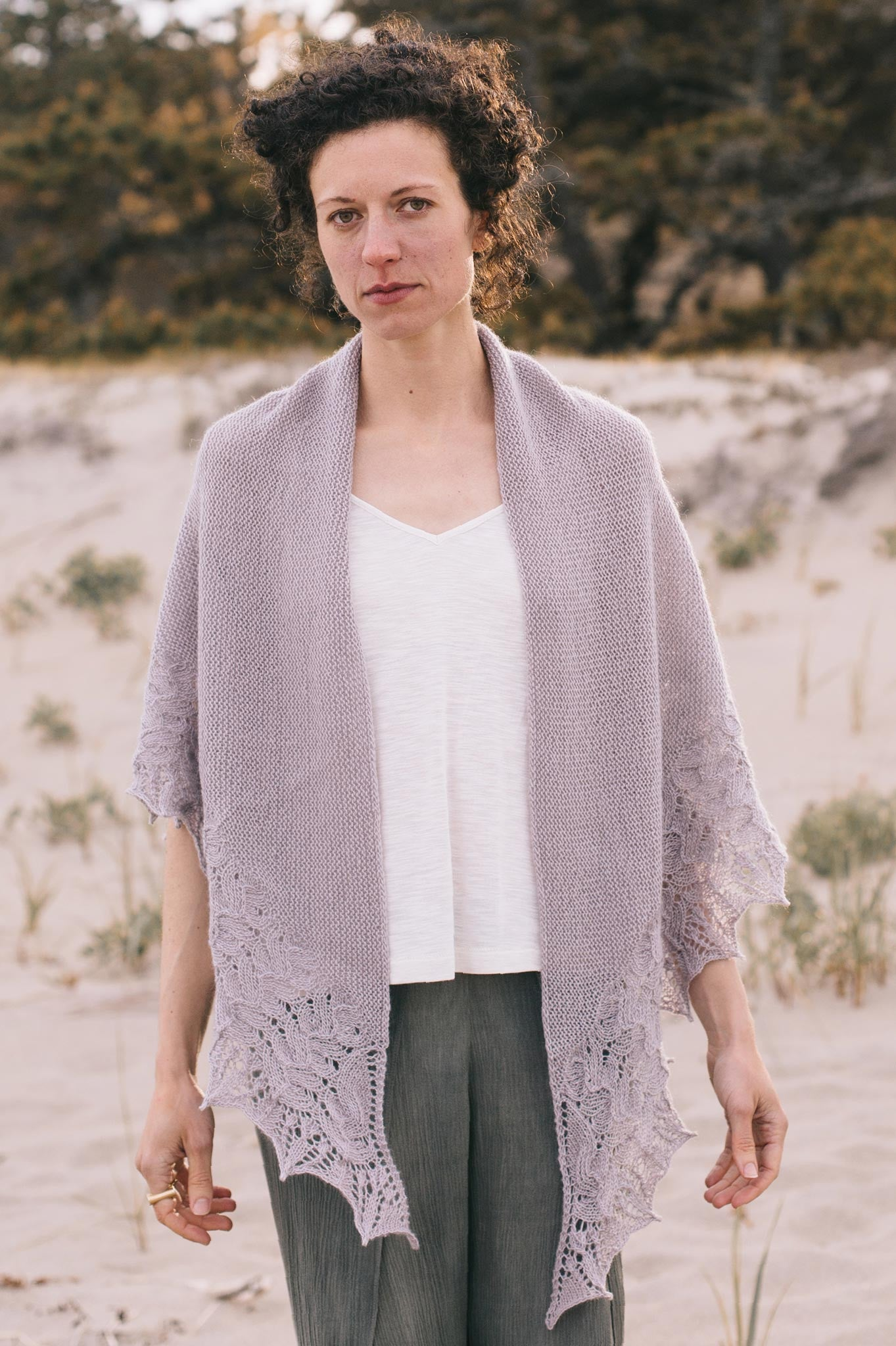 Vignette Shawl Knitting Pattern Quince And Co
