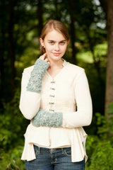 water lily mitts - pattern - Image 1