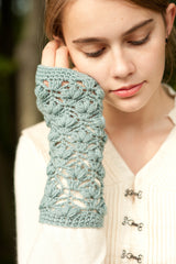water lily mitts - pattern - Image 3