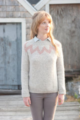 willard fair isle pullover - pattern - Image 1