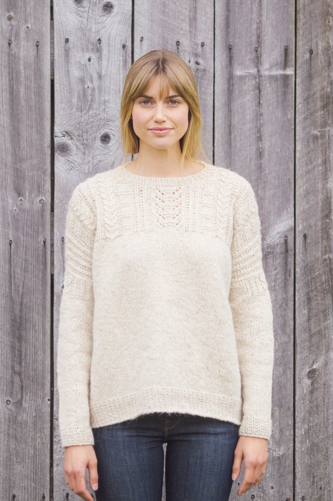 675c790d4 willow pullover knitting pattern - Quince and Co