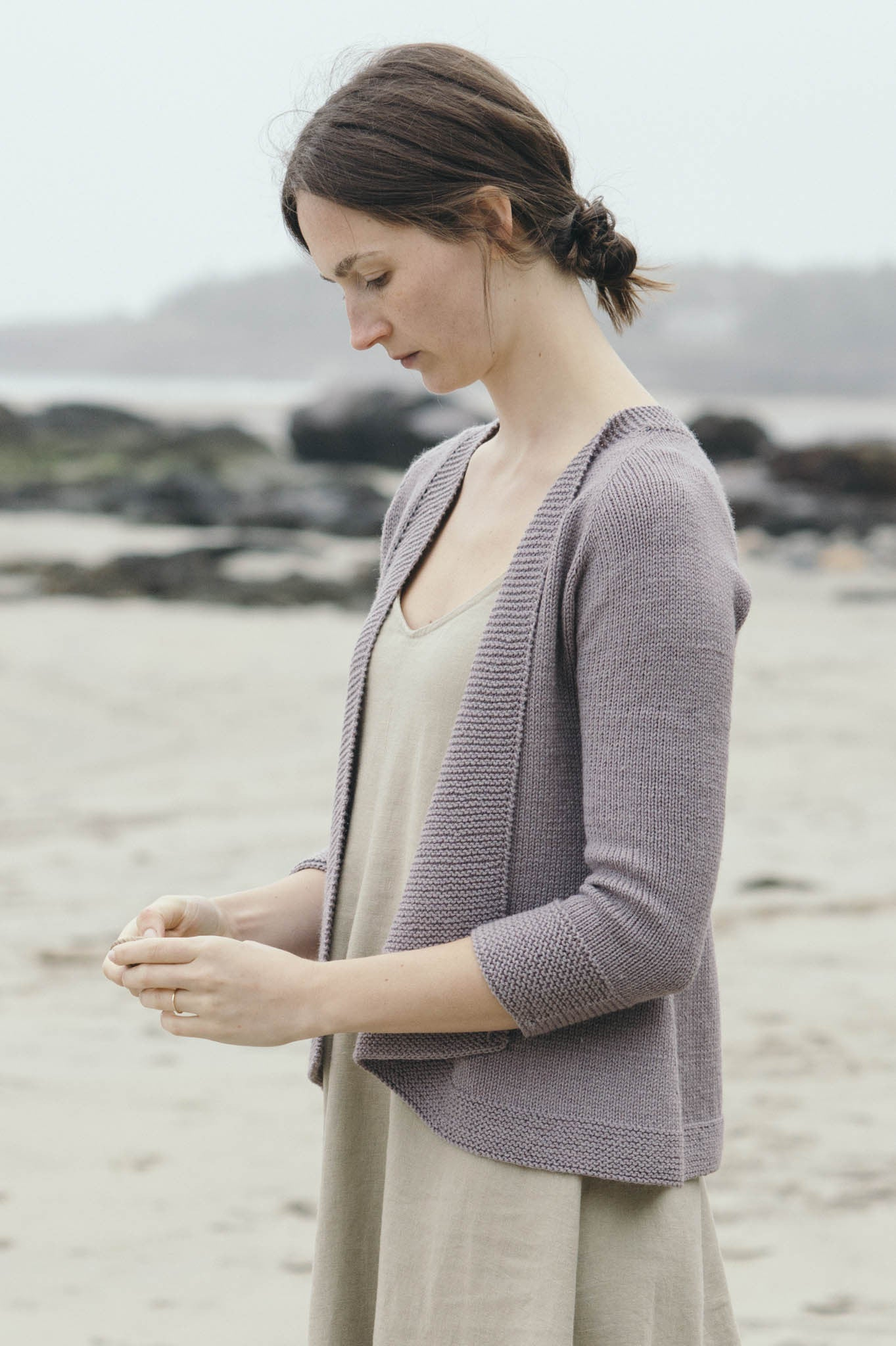 Andromeda Sweater Knitting Pattern Quince And Co
