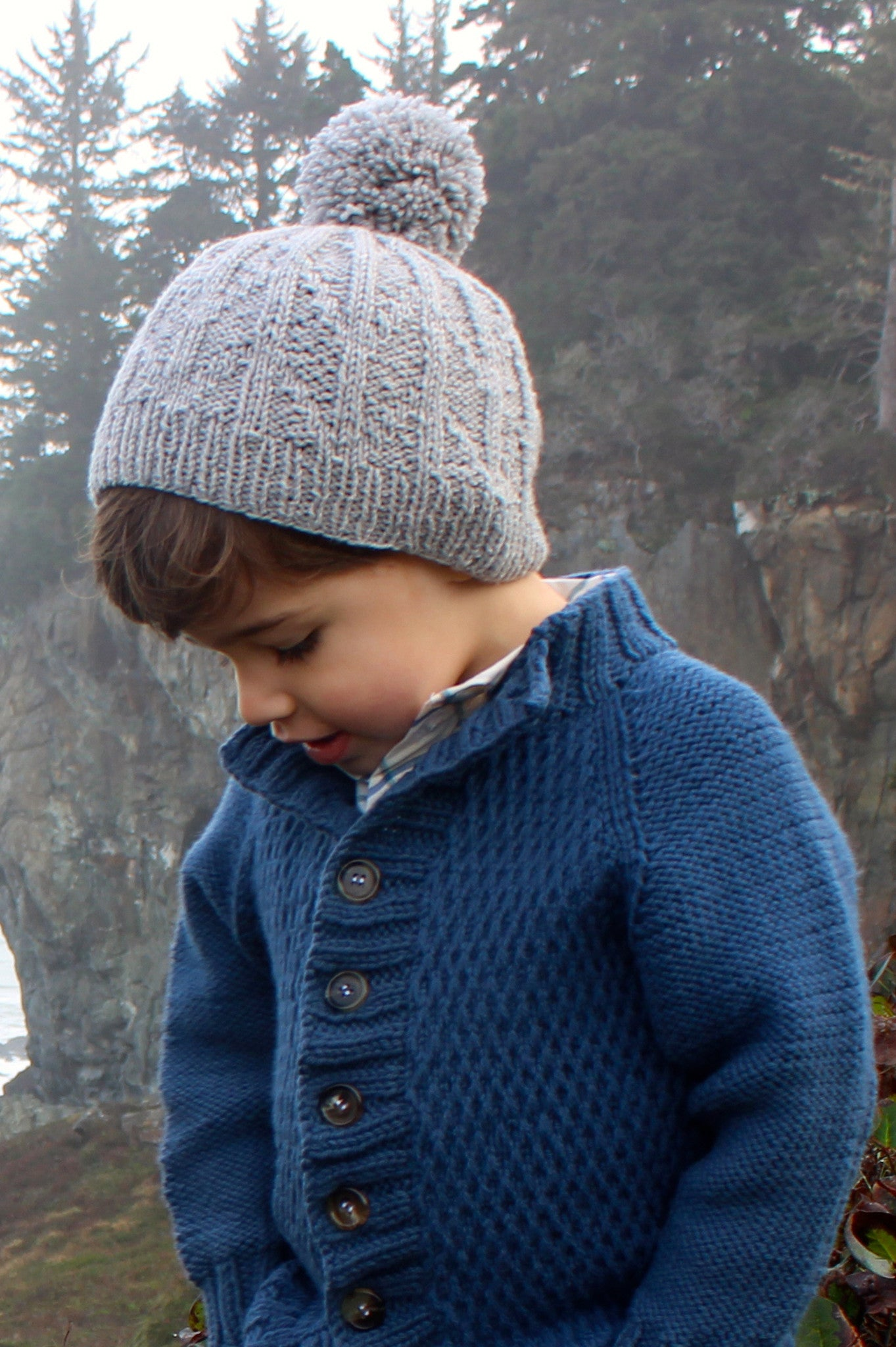 Lost Coast Kid Knitting Pattern Collection Quince And Co