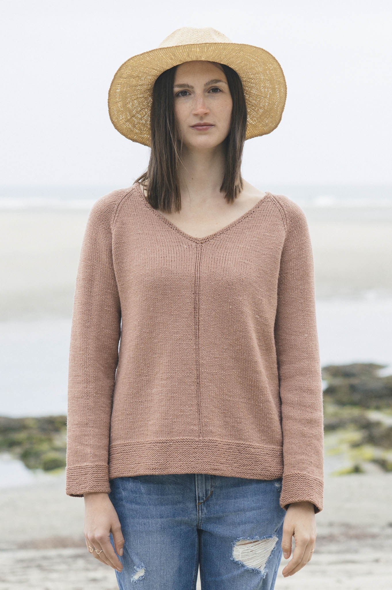 Carina Sweater Knitting Pattern Quince And Co