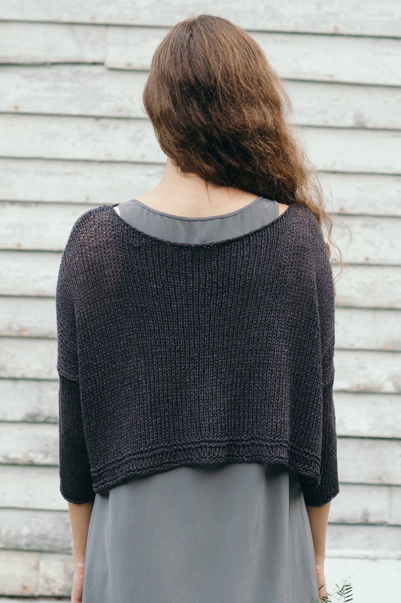 deschain pullover knitting pattern - Quince and Co