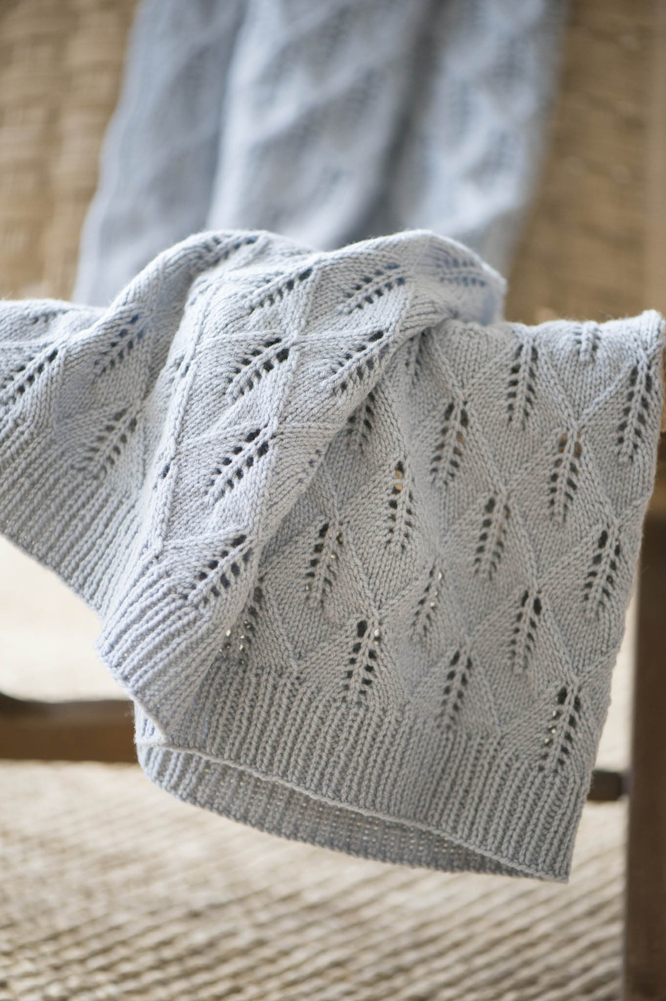 edelweiss blanket knitting pattern - Quince and Co