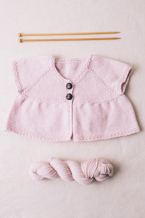 empire-waist cardigan