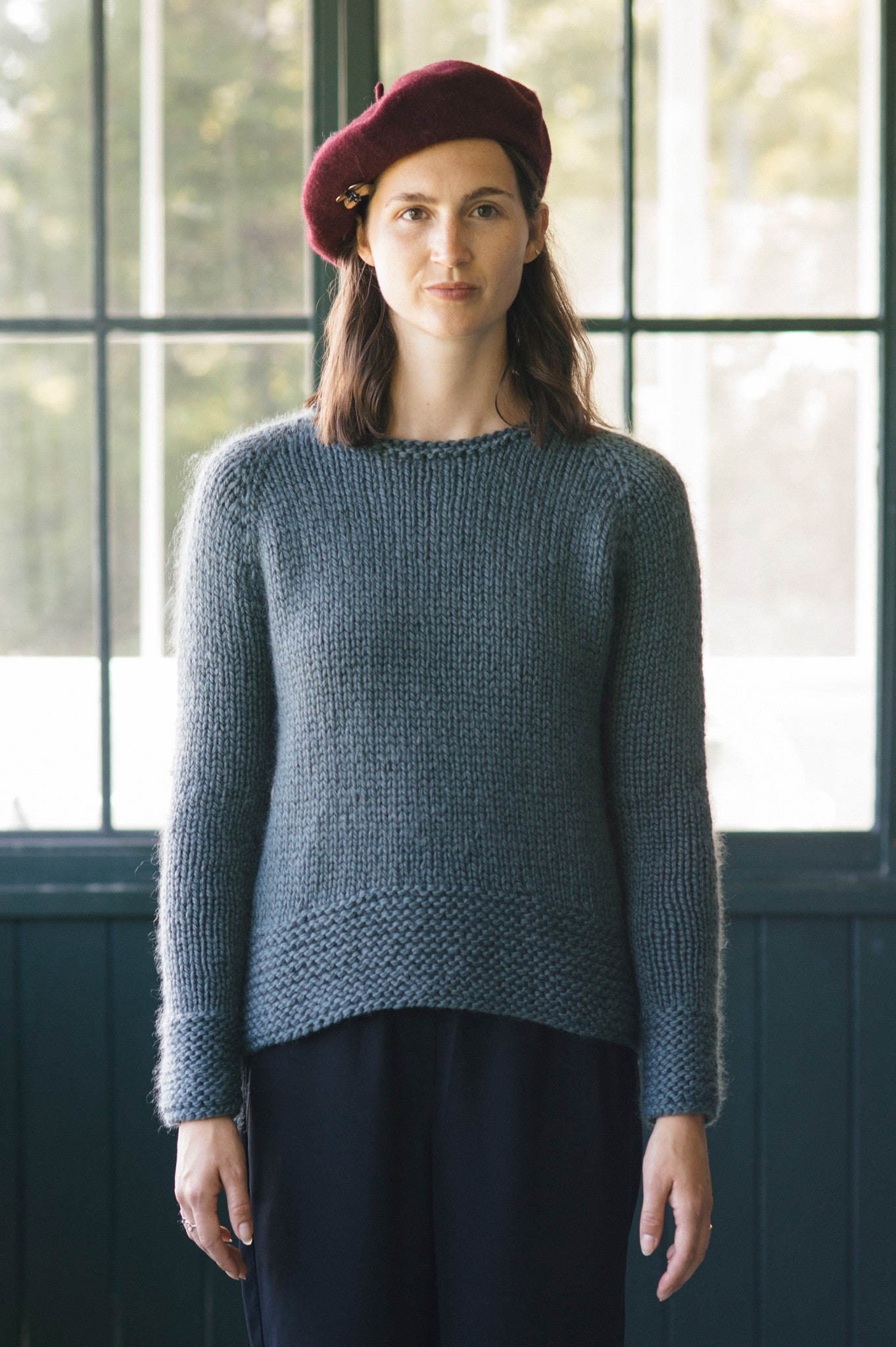 Fairbanks Pullover Knitting Pattern Quince And Co