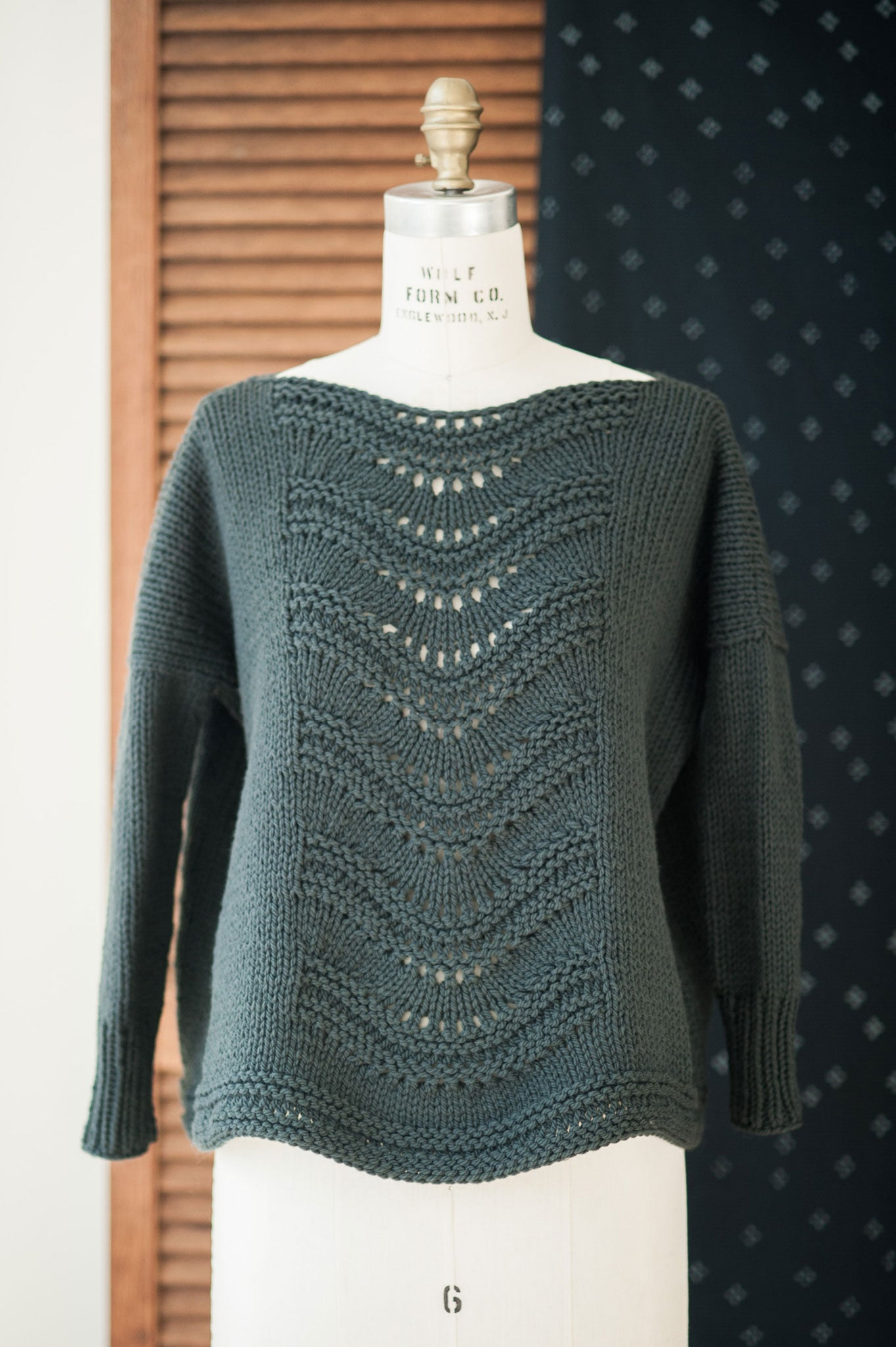 Gabrielle Pullover Knitting Pattern Quince And Co