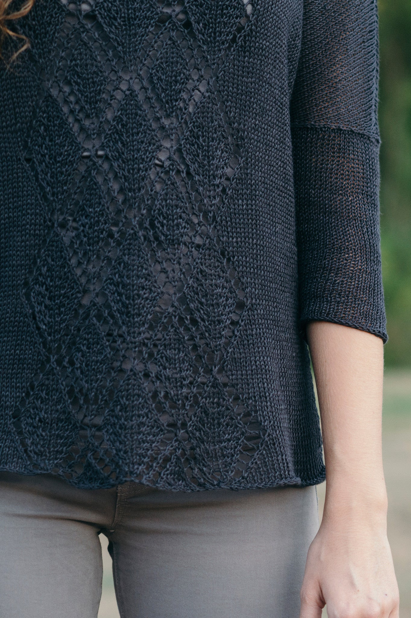 Gilead Pullover Knitting Pattern Quince And Co