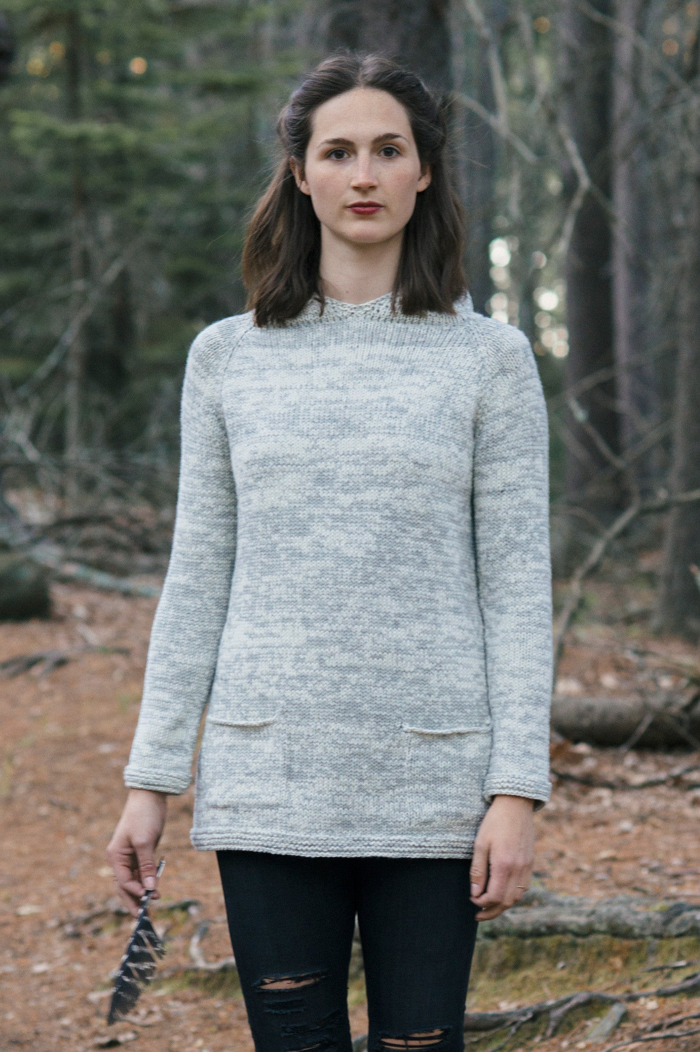 Helga Pullover Knitting Pattern Quince And Co