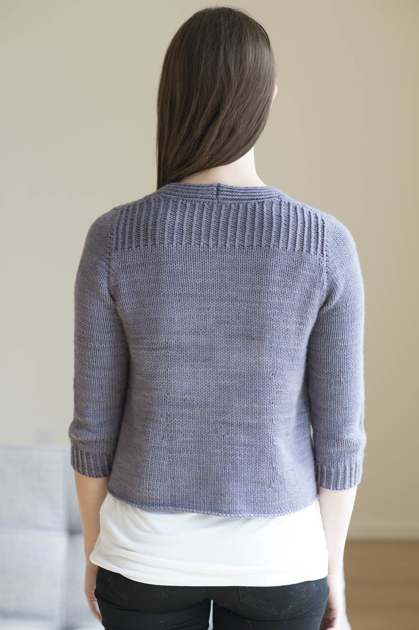 Iris Sweater Knitting Pattern Quince And Co