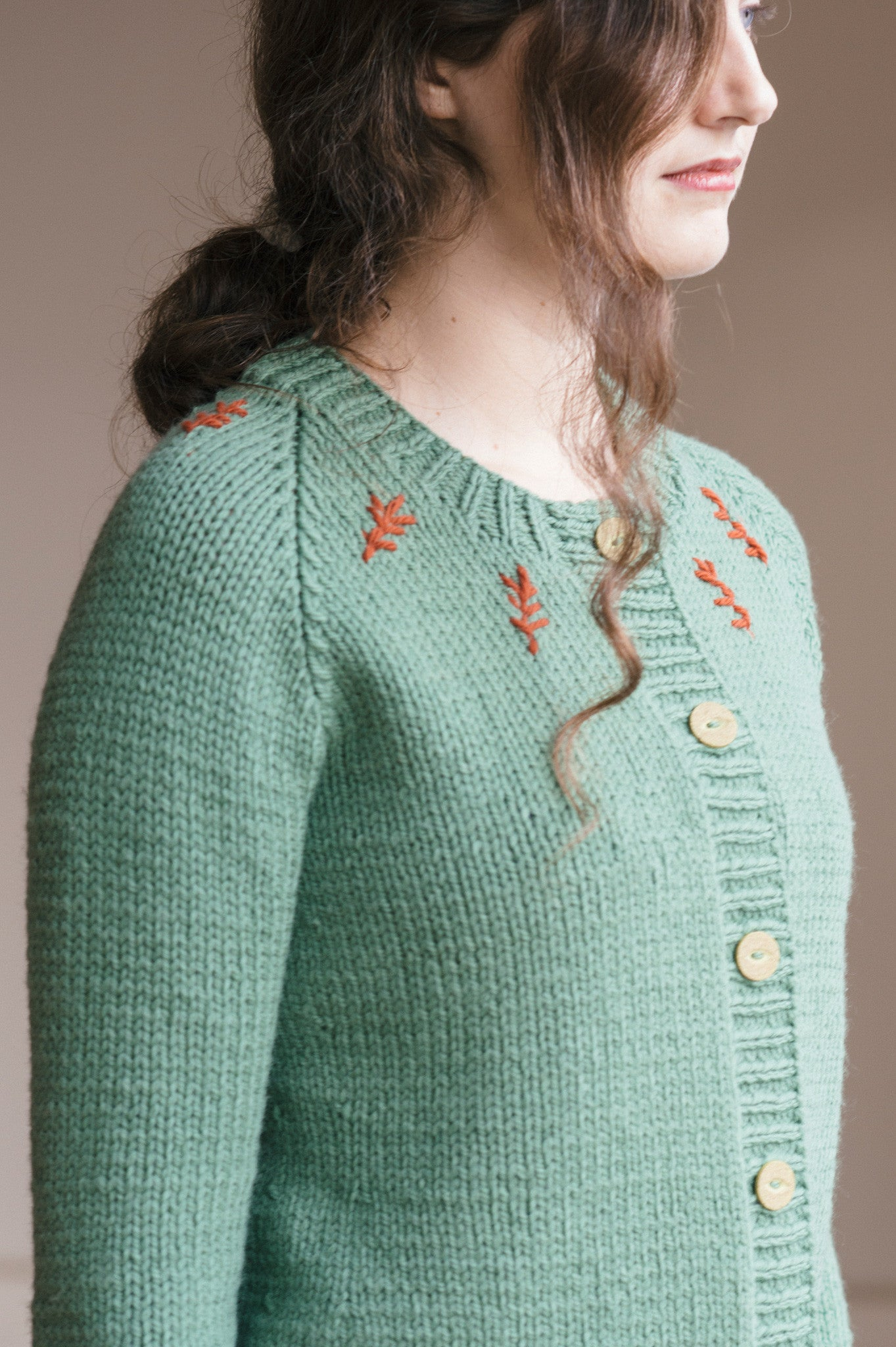 Lotte Cardigan Knitting Pattern Quince And Co