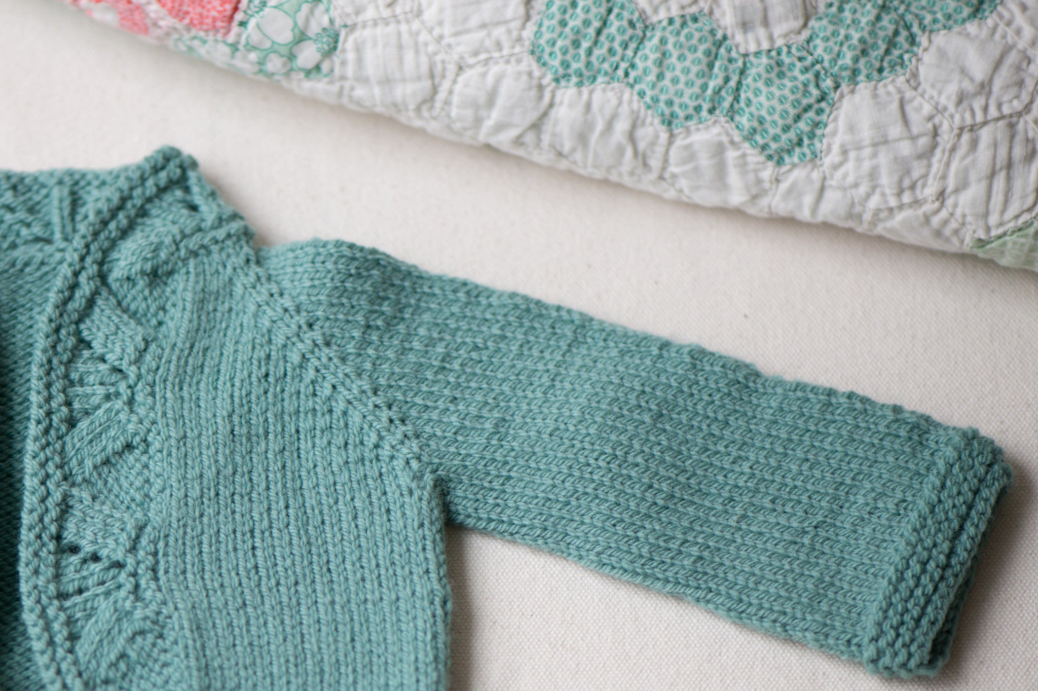 mae baby cardigan pattern - Quince and Co