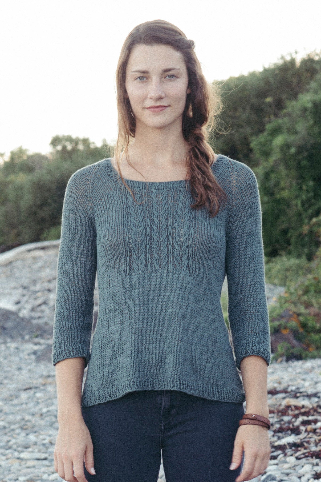 Merrifield Pullover Knitting Pattern Quince And Co