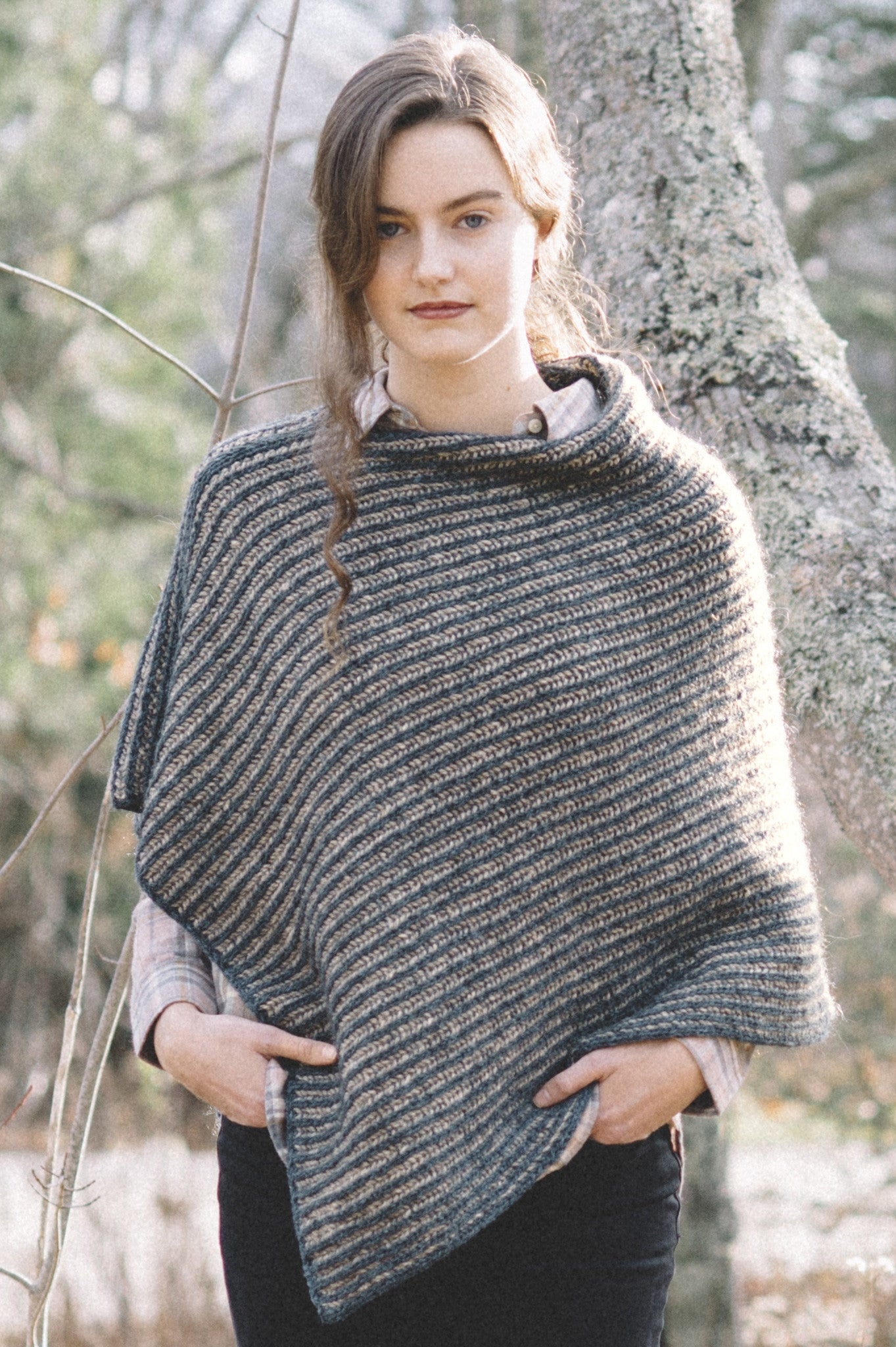 Nascha poncho knitting pattern quince and co nascha bankloansurffo Gallery