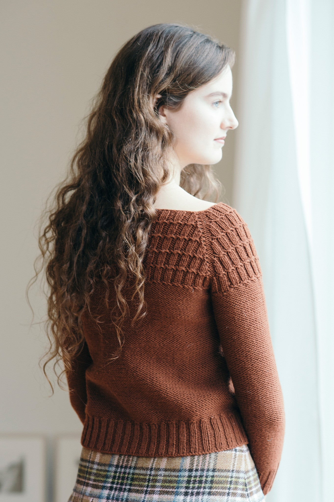 petra cardigan knitting pattern - Quince and Co