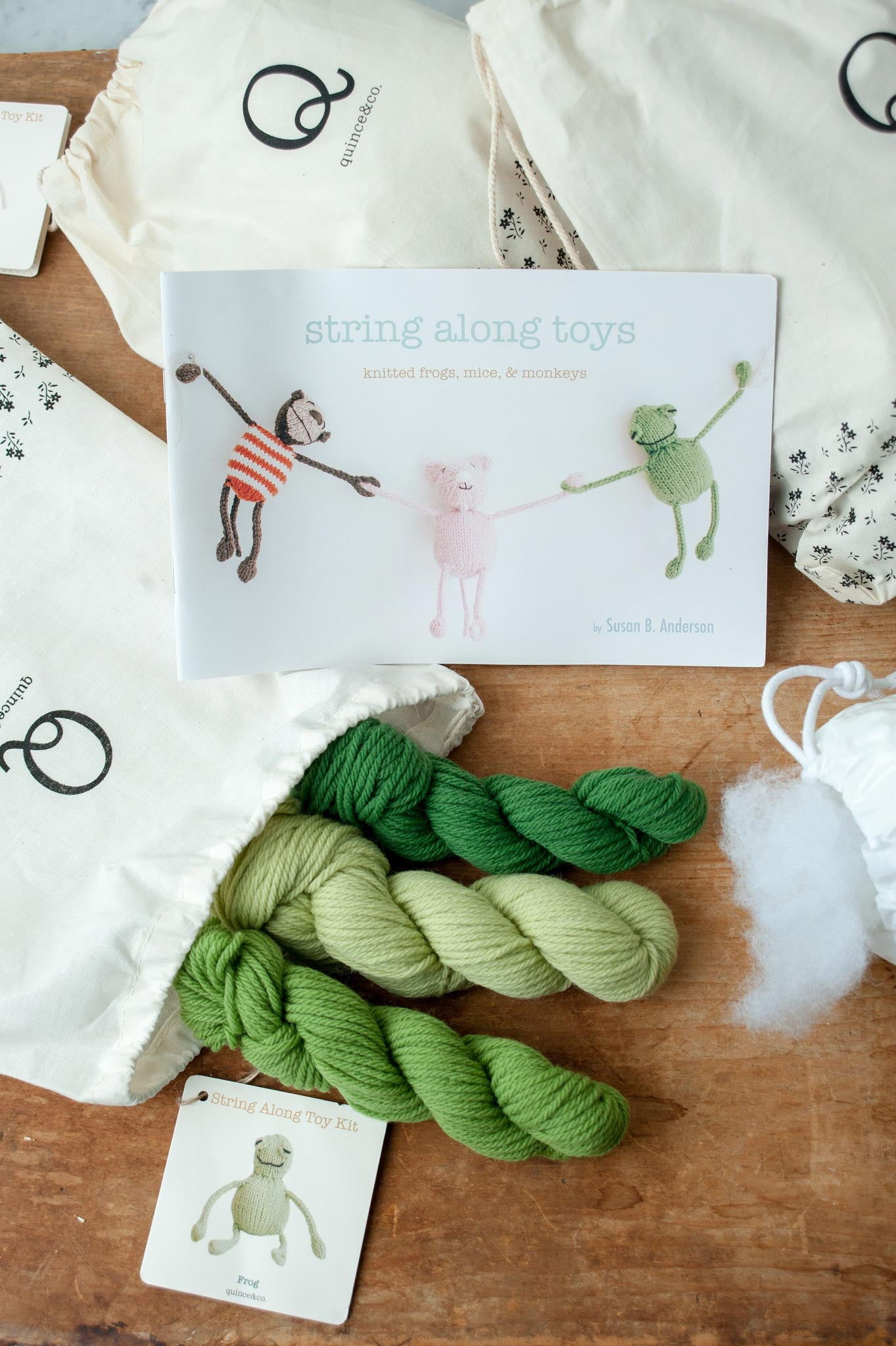 String Along Toy Kits Quince And Co