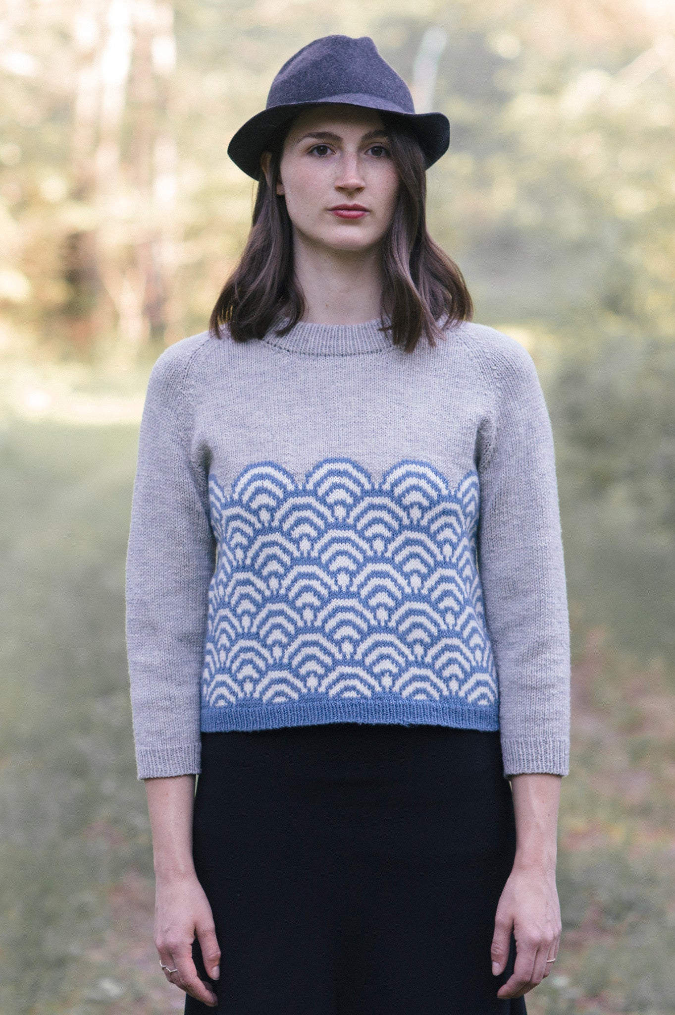 Svana Sweater Knitting Pattern Quince And Co