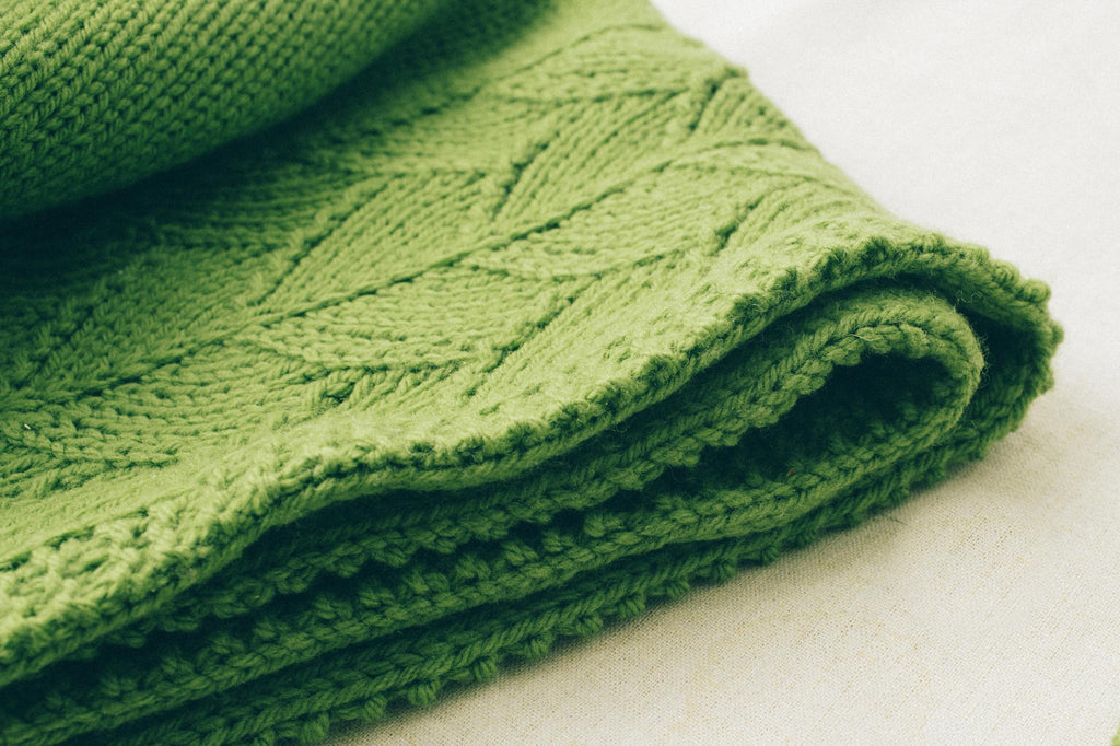 sweet leaf blanket