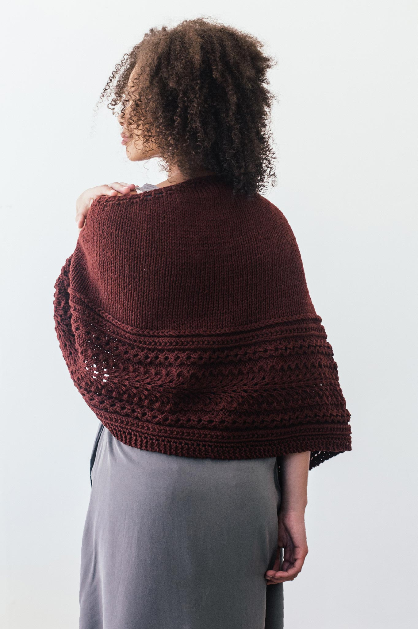 Vindaloo Shawl Knitting Pattern Quince And Co