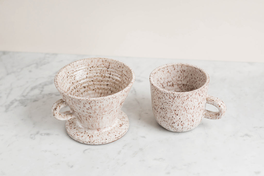 t&h mug & pour over set