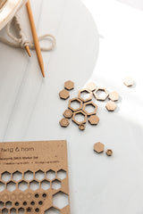 Honeycomb Stitch Markers - book - Image 2