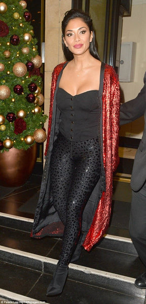 NICOLE SCHERZINGER MANÉ MAE COAT DRESS