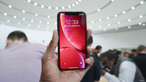 iPhone XR red front