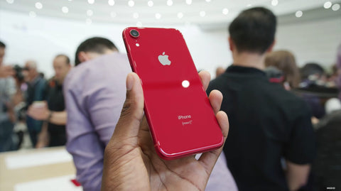 iPhone XR red rear