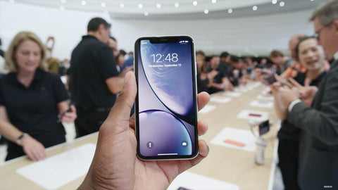 iPhone XR front white