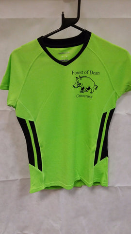 Forest Of Dean Canicross T-shirt Ladies