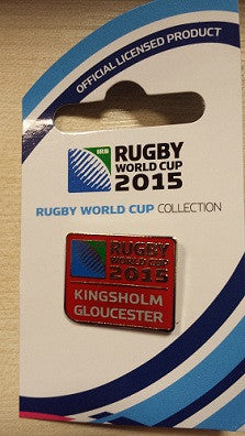 Kingsholm Pin Badge