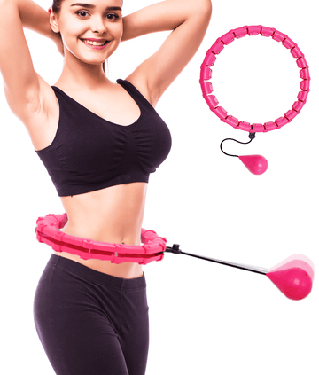 Smart Hula Hoop: Weighted Hoola Circle for Yoga Workout