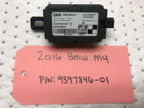 2016 BMW F80 F82 F83 M3 M4 OEM RADIO REMOTE RECEIVER 9397846-01 14 15 16 17
