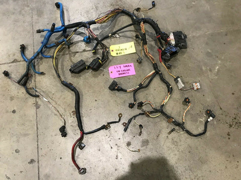 04 05 Chevrolet GMC 2500HD DURAMAX 6.6 LLY COMPLETE ENGINE WIRING HARNESS LOOM