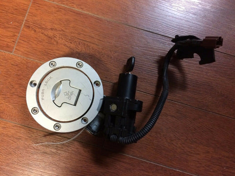 06 07 Honda Fireblade CBR 1000RR COMPLETE LOCKSET KEY IGNITION GAS CAP ETC